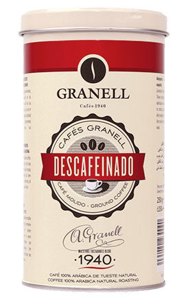 Cafe Granell Descafeinado - Sp4in.com Spanish Products Omnichannel Marketplace  Cafe