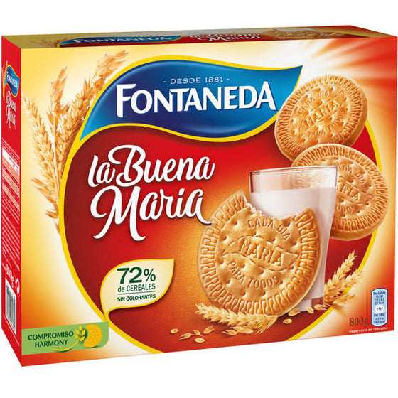 4 Unidades de Galletas Maria Fontaneda 800 gr - Sp4in.com Spanish Products Omnichannel Marketplace  Grocery