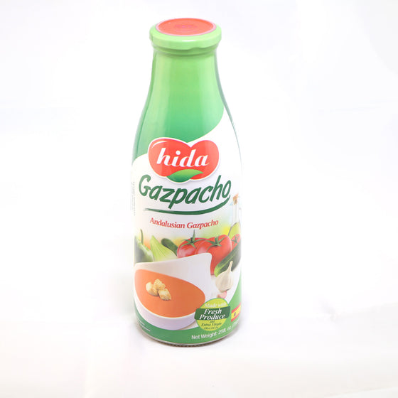 Gazpacho Andaluz Hida 750 gr . The Classic Andalusian Gazpacho - Sp4in.com Spanish Products Omnichannel Marketplace  Grocery