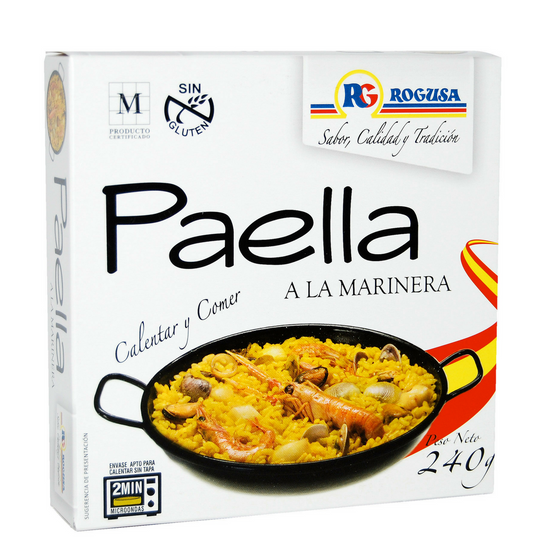 Paella a la marinera 240g por unidad , Rogusa , pack de 2 unidades - Sp4in.com Spanish Food and Products Marketplace