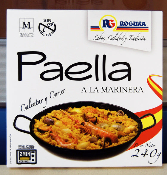 Paella a la Marinera - Sp4in.com Spanish Food and Products Marketplace
