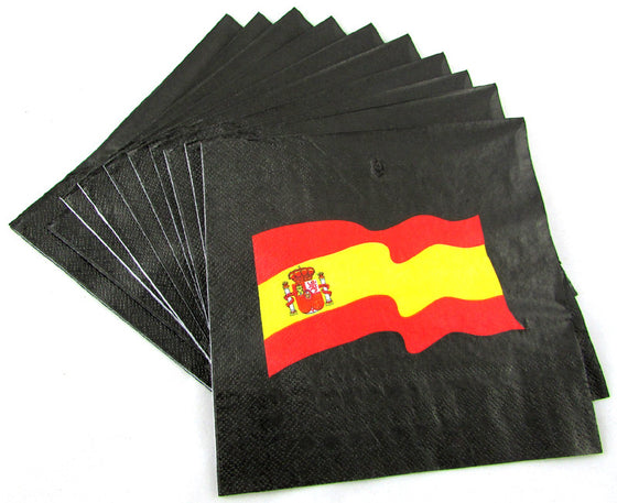 10 servilletas bandera España - Sp4in.com Spanish Products Omnichannel Marketplace