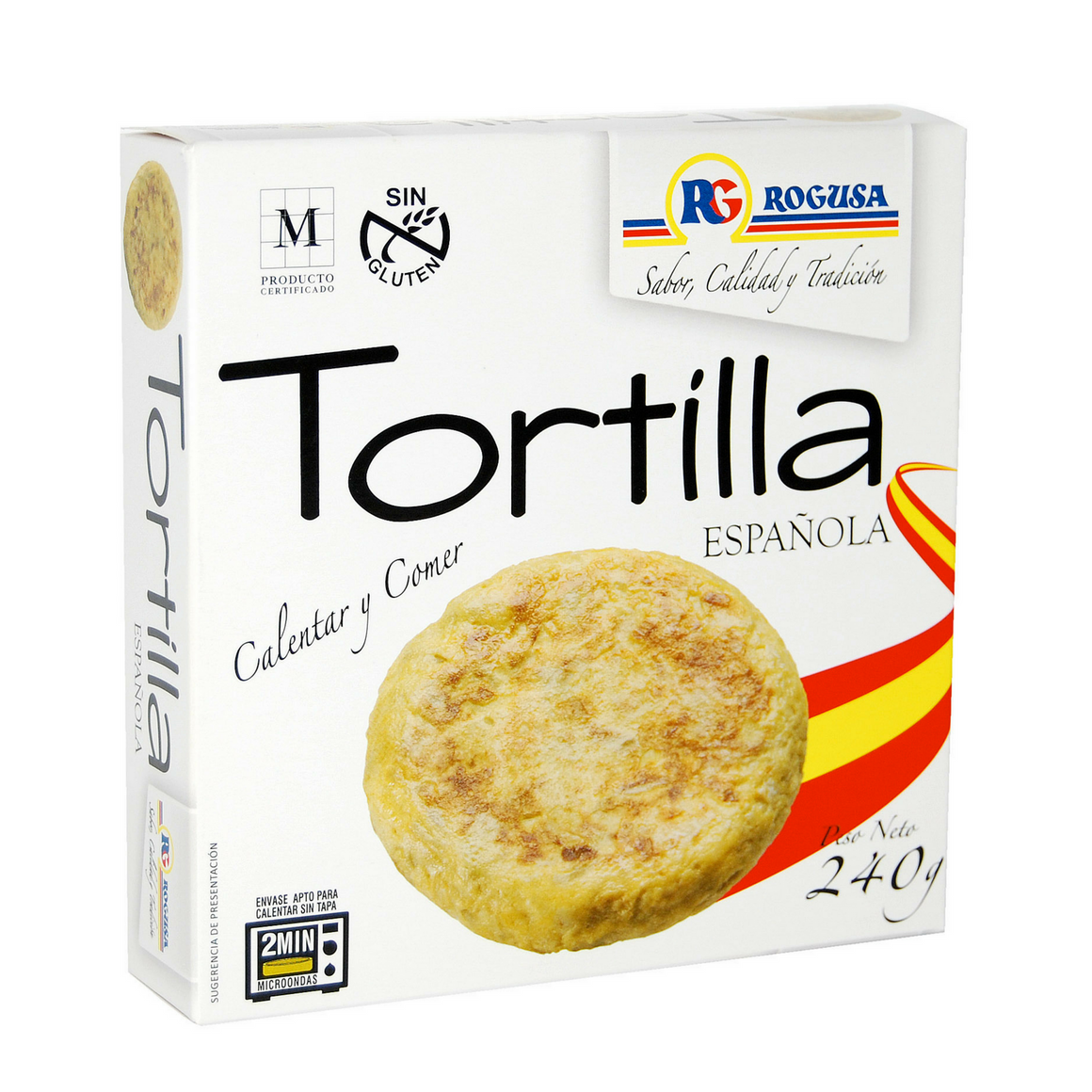 Tortilla Española Rogusa - Sp4in.com Spanish Food and Products Marketplace