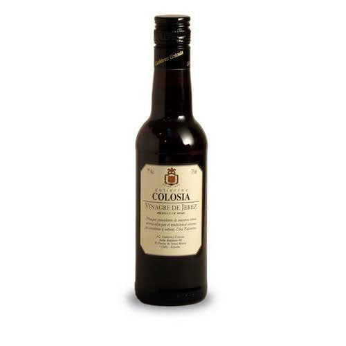 Sherry Vinegar by Gutierrez Colosia . Vinagre de Jerez - Sp4in.com Spanish Food and Products Marketplace  Grocery