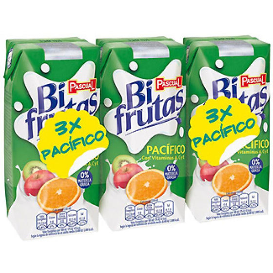 Zumo Bifrutas Pascual Pacífico pack 3 unidades - Sp4in.com Spanish Products Omnichannel Marketplace