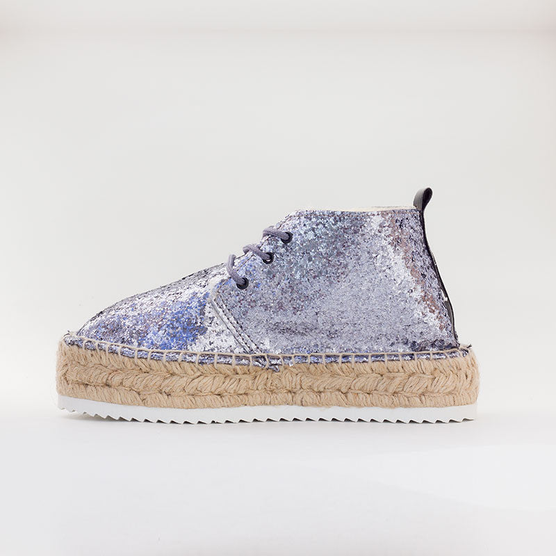 Botin Glitter Plata - 4qui.com Mercado Global en Español  Women Shoes