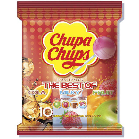 Caramelos con Palo Bolsa 10 UDS 120 gr de Chupa Chups - Sp4in.com Spanish Products Omnichannel Marketplace  Caramelos