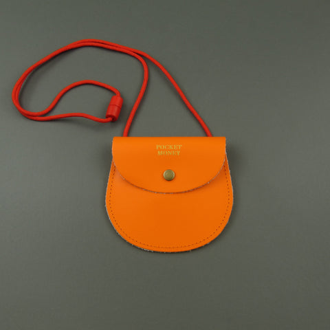 Pocket money purse Orange