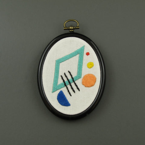 Limited edition mini embroidery