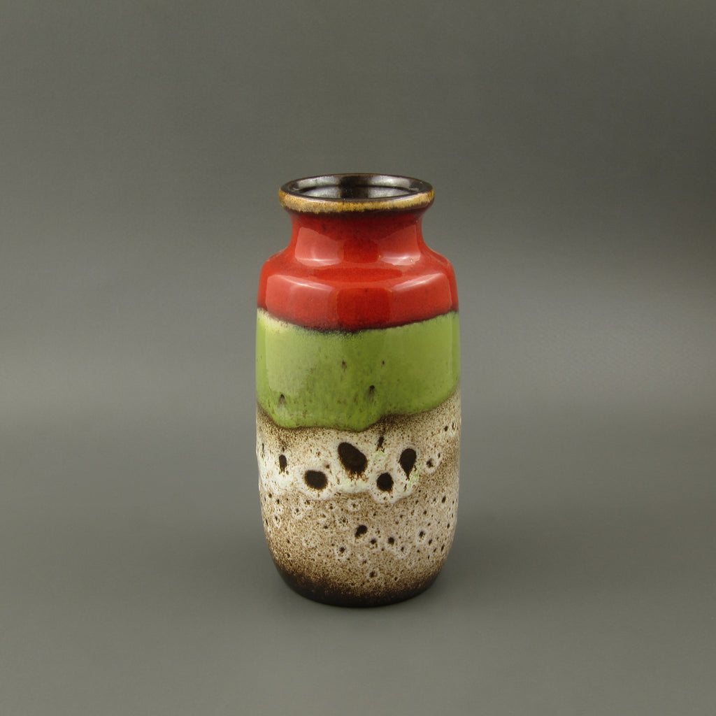 Vintage West German pottery vase
