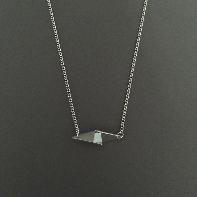 Silver Spear necklace