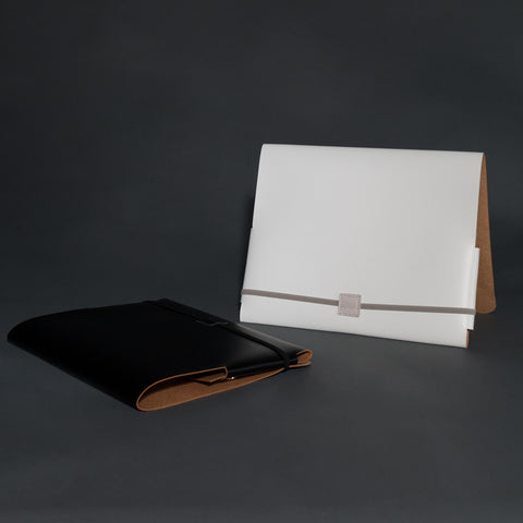 Recycled leather A5 portfolio / tablet case