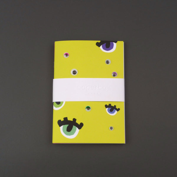 Twin pack googly eyes notebooks