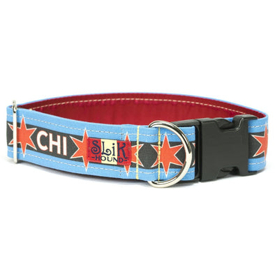 Chicago Flag Black