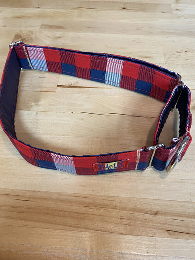"1.5"" Wide, 18-30"" long, Martingale, In George we Trust"