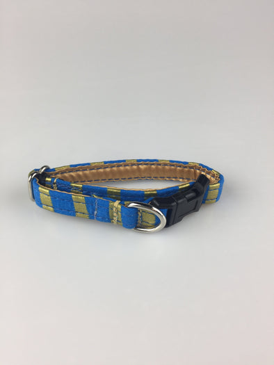 ".5"" Wide, 6-10"" long, plastic buckle, Pharaoh Stripes"
