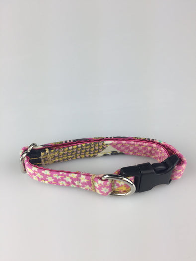 ".5"" Wide, 6-10"" long, plastic buckle, May Flowers"