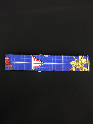 "1.5"" Width 13-23"" length, plastic buckle,  Transformers Collar"