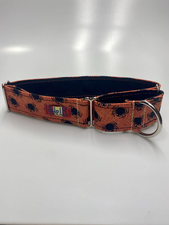 "1.5"" Wide, 13-23"" long, Martingale, Creepy Crawly"