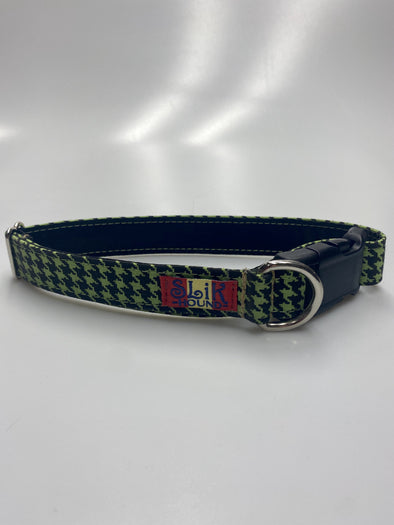 "1"" Wide, 13-23"" long, plastic buckle, Unleash the Houndstooth"