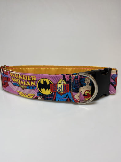 "2"" Wide, 18-30"" long, plastic buckle, Wonder Girls Themed"