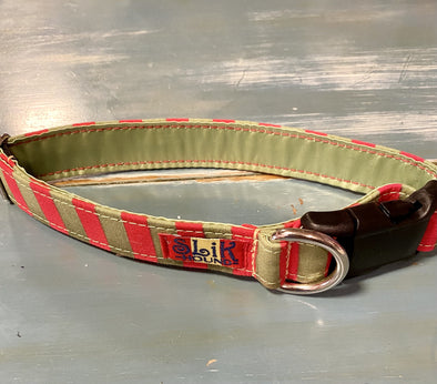 "1"" Wide, 13-23"" long, plastic buckle, Santa's Helper"