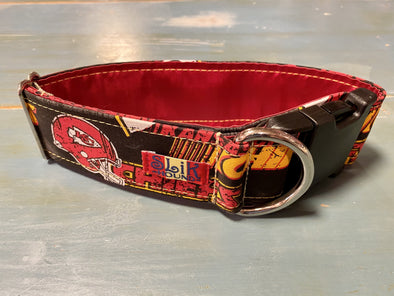"2"" Wide, 13-23"" long, plastic buckle, Chiefs Themed"
