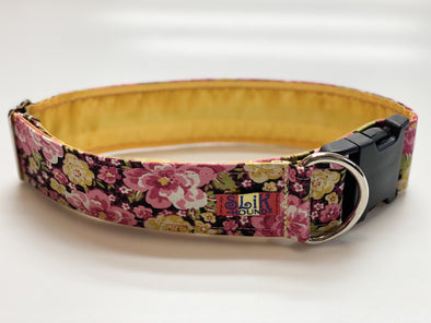 "2"" Wide, 18-30"" long, plastic buckle, May Flowers"