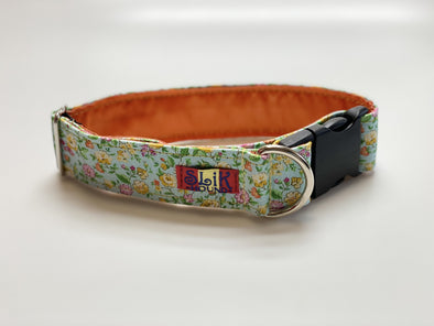 "1.5"" Wide, 13-23"" long, plastic buckle, Easy Breezy Blossom"