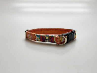 ".75"" Wide, 10-16"" long, plastic buckle, Orange Blossom"