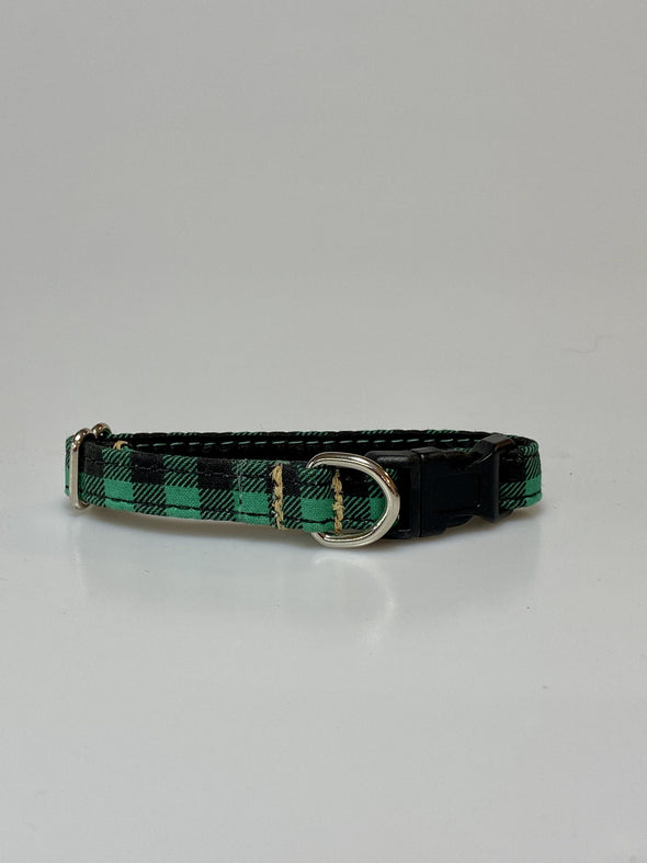 ".5"" Wide, 6-10"" long, plastic buckle, Pine Check"