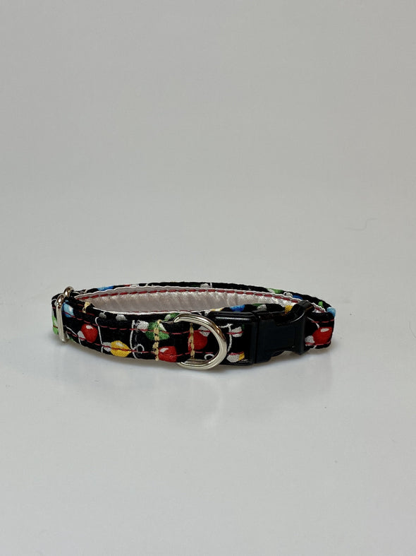 ".5"" Wide, 6-10"" long, plastic buckle, Christmas Lights"