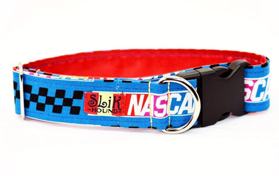 Nascar Themed Pop Fashion Dog Collar - SLiK Hound Dog Collar - Dog Collar [shop-name] - SLiK Hound Dog Collar - quality dog collar [product-type] - best dog collar Dog Collar - long lasting dog collar