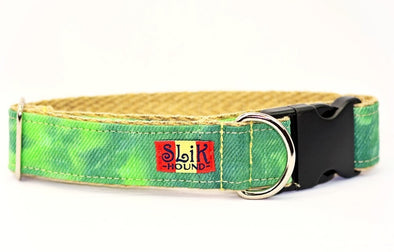 Green Envy Cannabis Dog Collar - SLiK Hound Dog Collar - Dog Collar [shop-name] - SLiK Hound Dog Collar - quality dog collar [product-type] - best dog collar Dog Collar - long lasting dog collar