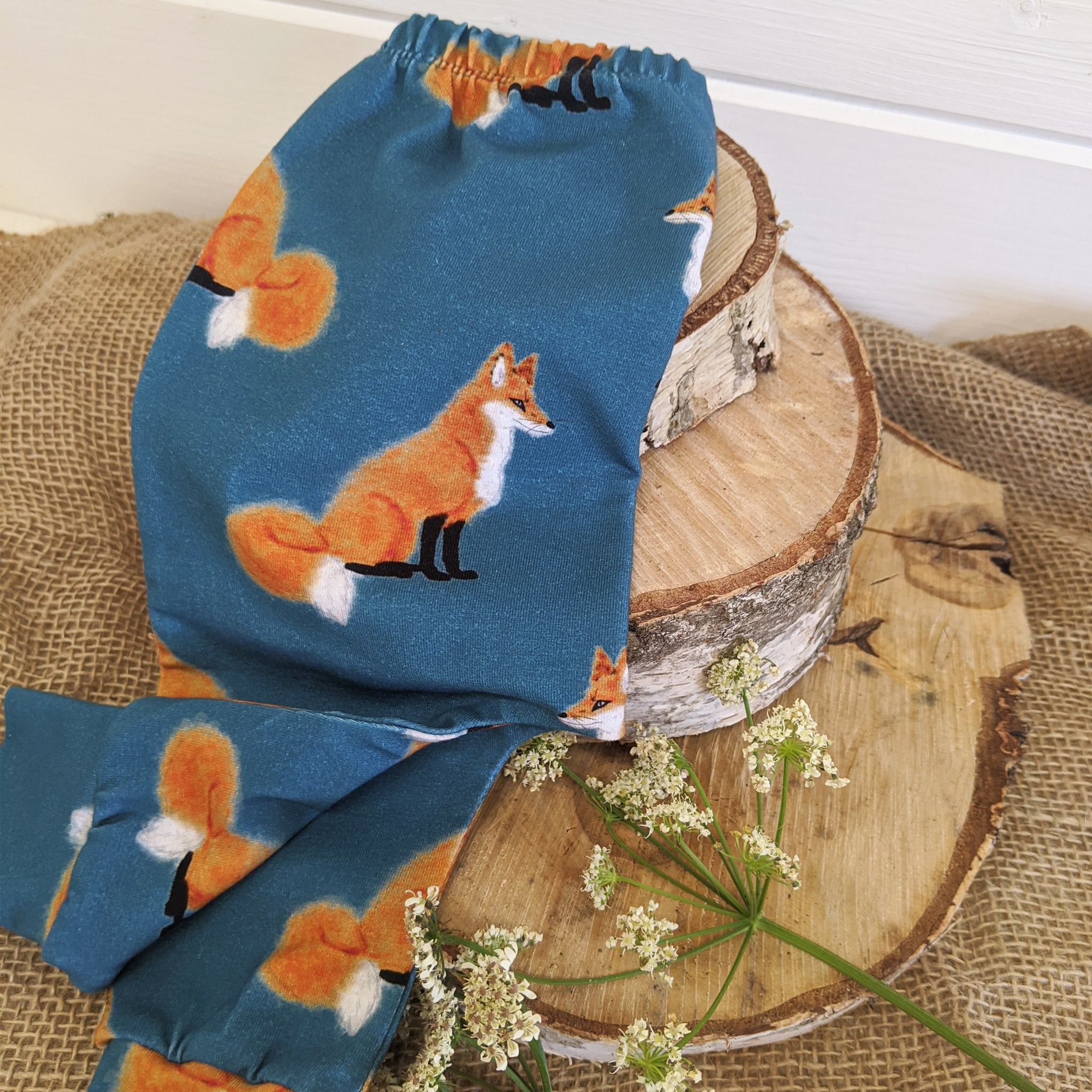 PI 3-6m OLD Fox Slouchy Leggings 07