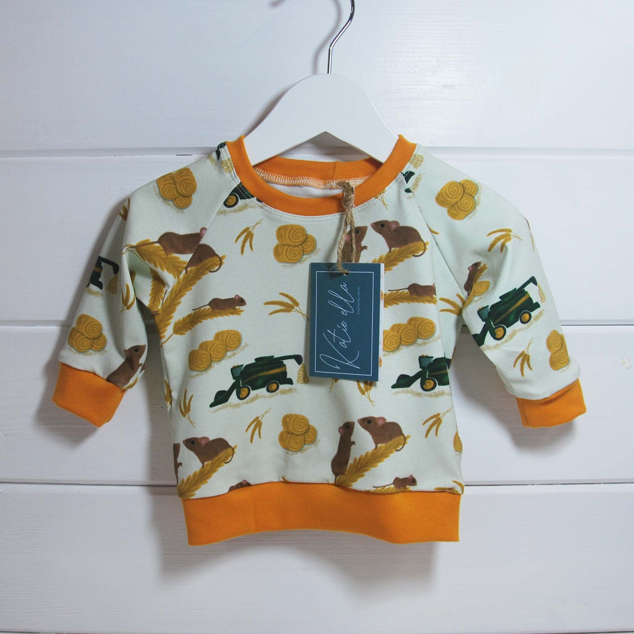 Harvest Mouse Raglan Top