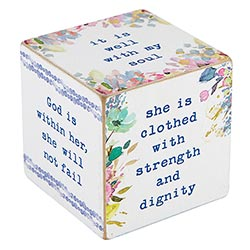 "2.5"" Quote Cube - Mother"