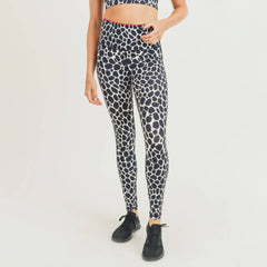 Dark Giraffe Highwaist Leggings