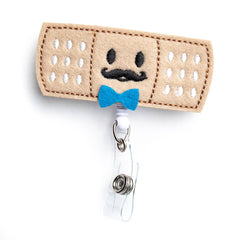 Boy Bandaid | Nurse Badge Reel Holder