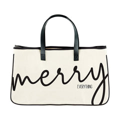 CANVAS TOTE - MERRY