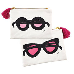 COIN PURSE - ROSE GLASSES