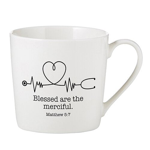 Cafe Mug - Blessed Are The Merciful