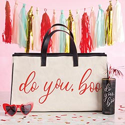 Canvas Tote - Do You, Boo