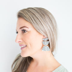 Shea Dalmation Earrings
