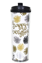 Coton Colors Happy Everything Pom Happy Everything 16 oz Travel Mug