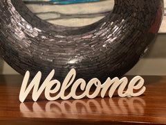"Word Art - ""Welcome"""