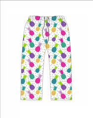 PINEAPPLE JAMMIE SHORT SETS