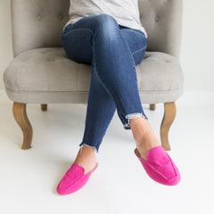 Mules- Pink Suede
