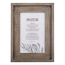 Pastor Appreciation Wall Art-Framed - Pastor
