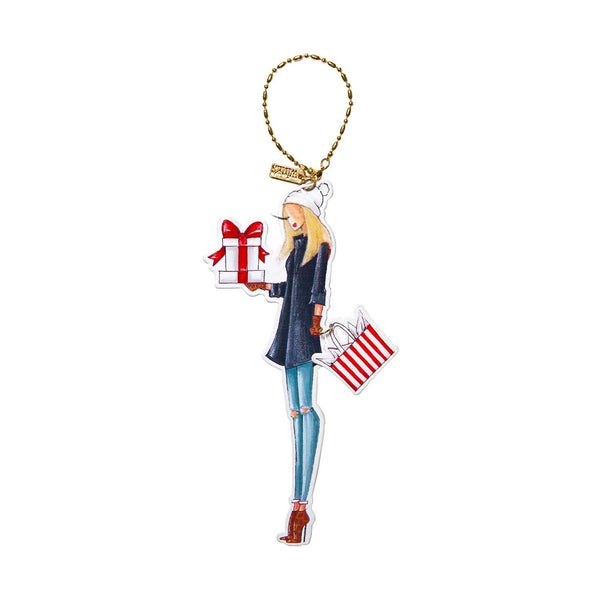 Winks Ornament - Gift Giver (Blonde)